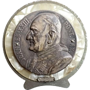 Beautiful Pope Saint John XXIII Medallion Plaque
