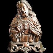 Large Freestanding Sacred Heart of Jesus