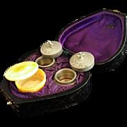 Heart Shaped Portable Baptism Set
