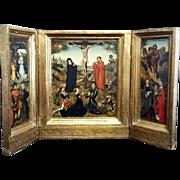 Florentine Crucifixion Triptych