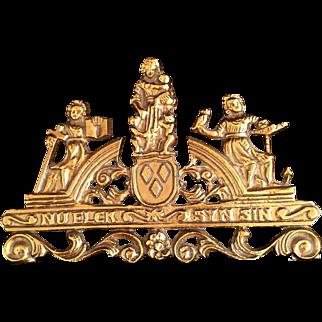 Brass Faith Hope & Charity Decoration