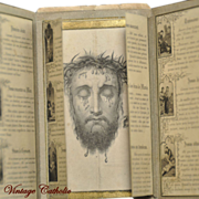 French Stations of the Cross Card