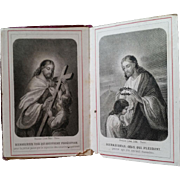 The Beatitudes French Holy Cards Booklet