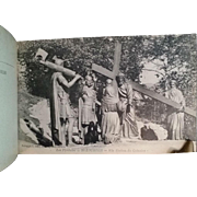 WWI Lourdes Stations of the Cross Postcard Booklet