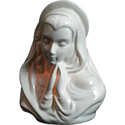 Blessed Virgin Mary Figurine with Tea Candle
