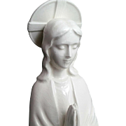 Fine Porcelain Madonna with Beautiful Halo
