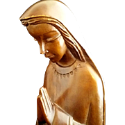 Hand Carved Blessed Virgin Mary