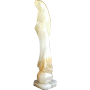 Mid-Century Abstract Marble Madonna