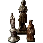 Three Antique French Statuettes
