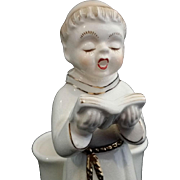 Tonsured Chanting Monk Planter