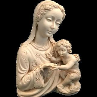 Madonna and Child Sculpture