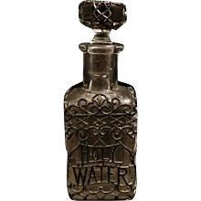 Victorian Filigree Holy Water Bottle
