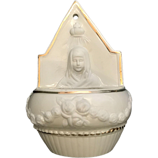 Blessed Virgin Mary Holy Water Font