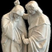 Mary & John Holy Water Font