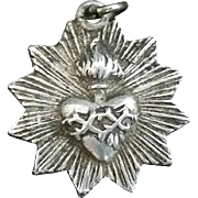 French Sacred Heart Medal