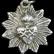 French Sacred Heart Medal