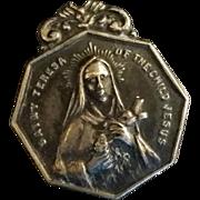 Saint Teresa of the Child Jesus Pocket Medal
