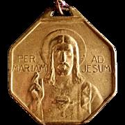 Large Bronze Saint Borromeo Medal