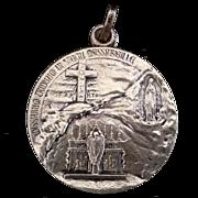 1935 Pope Pius XI Lourdes Jubilee Year Medal