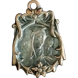 Madonna Medal with Sacred Heart