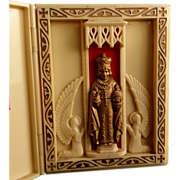 Infant of Prague Pocket Prayer Case
