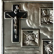 Pocket Stations of the Cross in Black Case