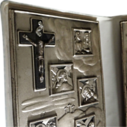 Pocket Stations of the Cross in Blue Case