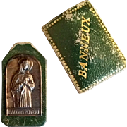 Green Madonna Virgin of the Poor Pocket Shrine