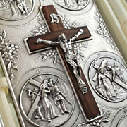 Pocket Stations of the Cross Travel Shrine