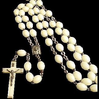 Huge Mid-Century Glow in the Dark Rosary