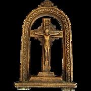 Syroco Wood Crucifix
