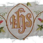 Silk Liturgical  Embroidery Pieces