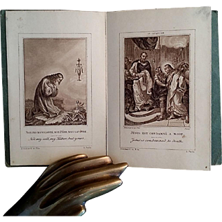 Antique Stations of the Cross Prints Booklet