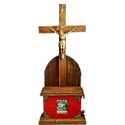 1904 Standing Crucifix with Stations of the Cross