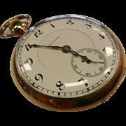Vintage Gold Filled Hamilton Watch Co. 17 Jewel Pocket Watch