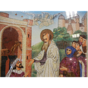 Unique Gemstone Mosaic Artwork - Matthew 9:18