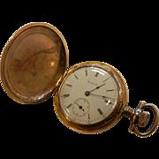 Vintage Elgin National Pocket Watch w/ Hunter's Case
