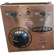 Vintage AMPAK Model Train Rectifier