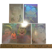 Original Babe Ruth Hologram Baseball Cards