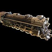 HO-Scale Model Train Engine - Black D&RGW 1709