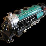 N-Scale Model Train Engine Bachman Green 1257
