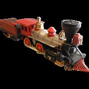 N-Scale Model Train Engine C.P.R.R. Red Jupiter Steam Engine