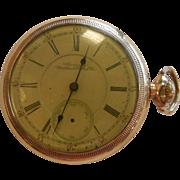 Vintage 1892 Vanguard Waltham Pocket Watch 21 Jewels - Size 18