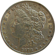 1878 US Morgan Silver Dollar