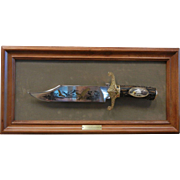 The American Eagle Bowie Knife by Ronald Van Ruyckevelt - The Franklin Mint