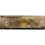 Bank Leumi Israel Coin Set