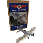 Wings Of Texaco 1932 Northrop Gamma 2nd In Series 1994 Coin Bank ERTL