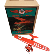 Wings Of Texaco 1929 Lockheed Air Express First in the Series 1994 Coin Bank ERTL