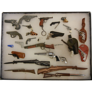 Collection of Miniature Guns