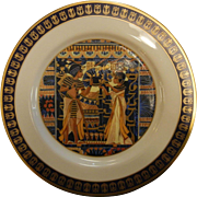 """Vintage Limited Edition Porcelain Plate by Gorham """"The Ivory Chest"""""""
